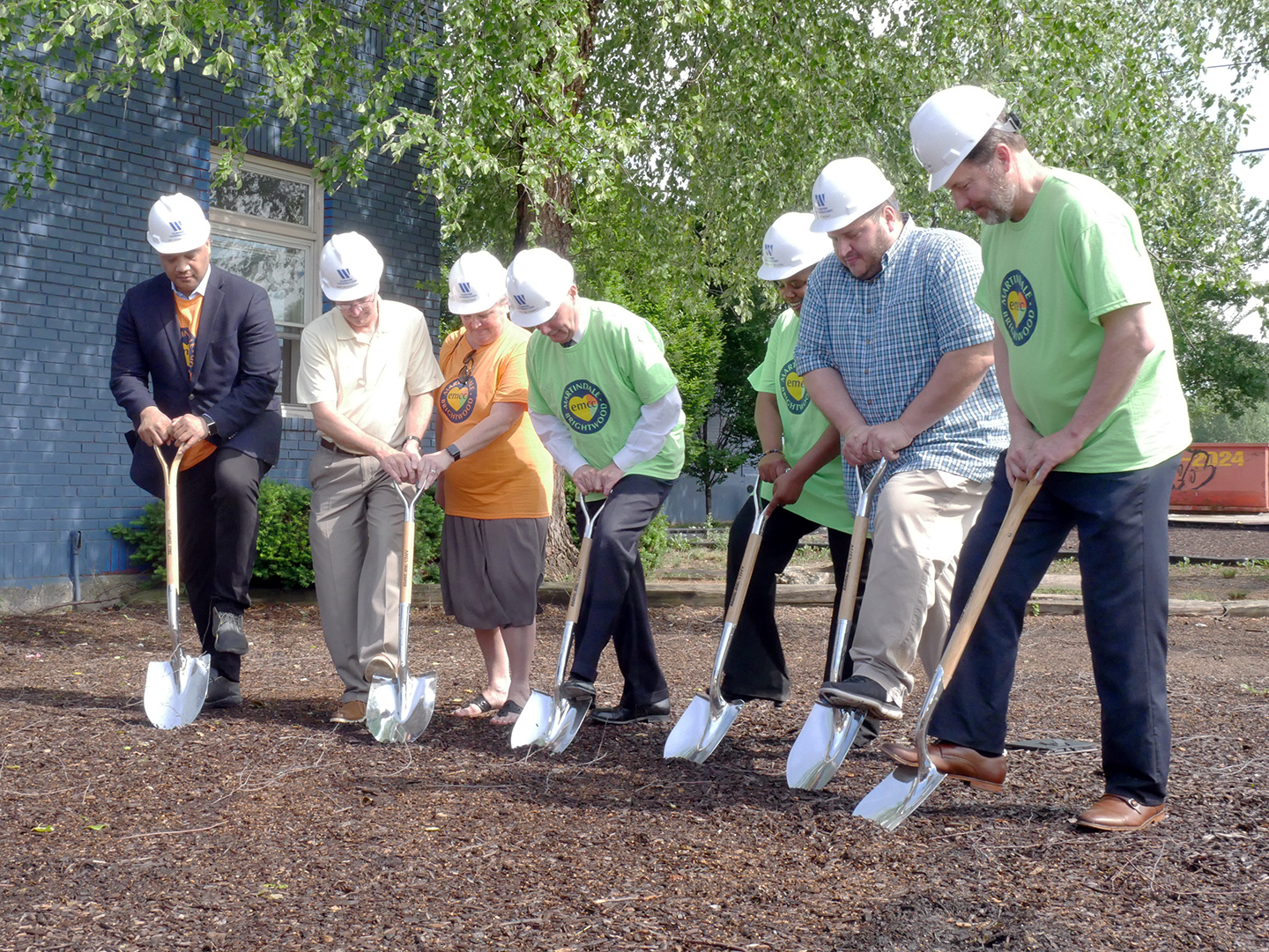 Ground is broken for the renovation of our Leadership & Legacy campus