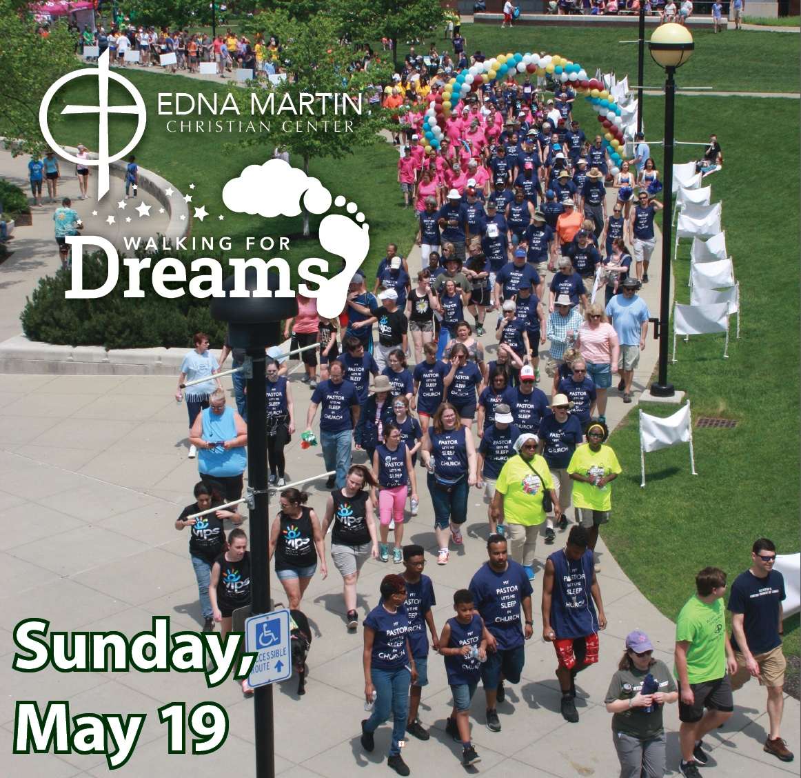 Walking for Dreams with EMCC!