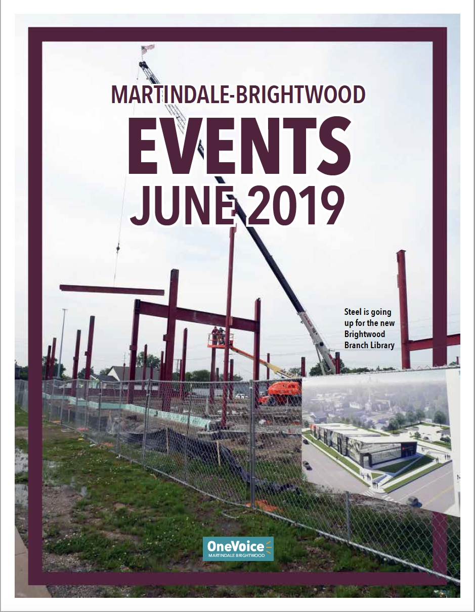 The 2019 May Events Calendar for Martindale-Brightwood