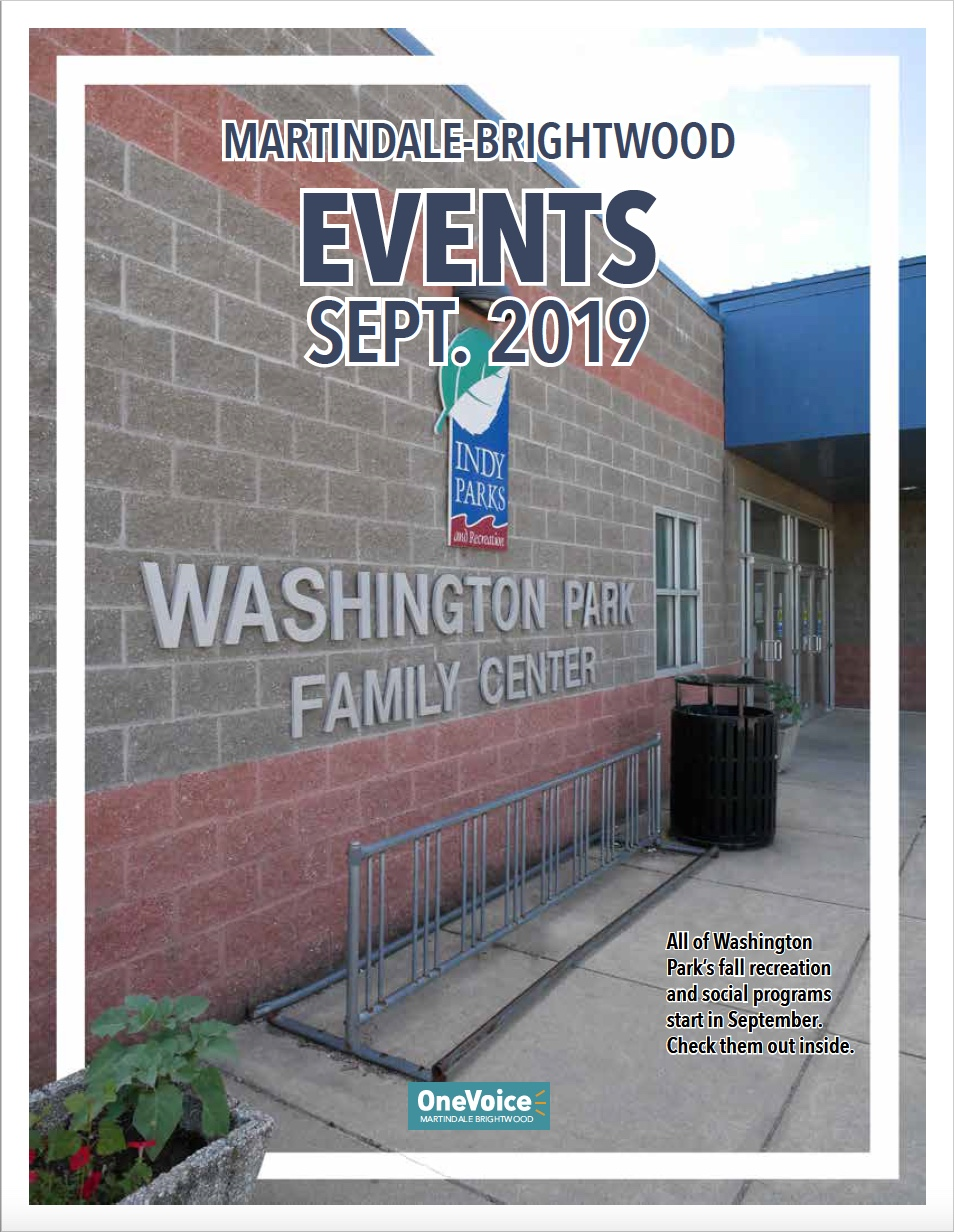 The July 2019 Events Calendar for Martindale-Brightwood