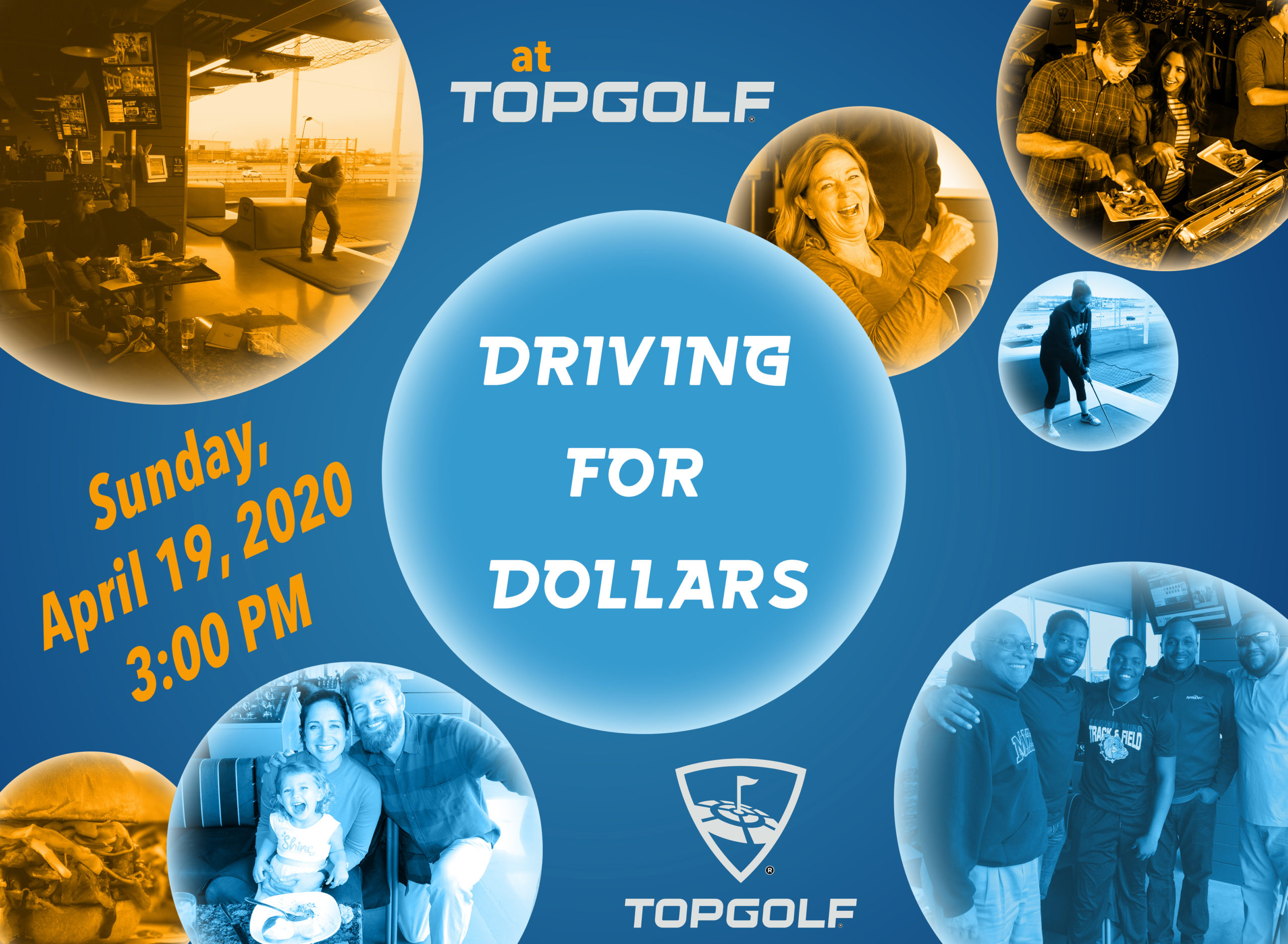 Come to Driving for Dollars on April 19, 3 PM. !