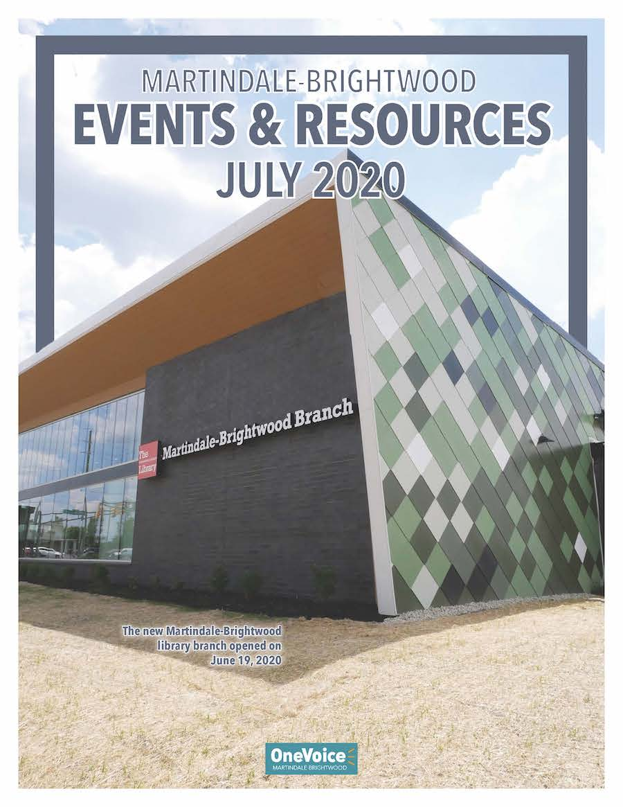 The July 2020 Resource Guide for Martindale-Brightwood