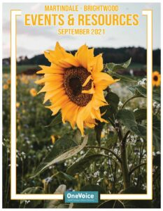 The September 2021 Resource Guide for the Martindale-Brightwood neighborhood